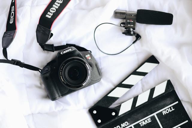 equioamentos para gravar vídeos