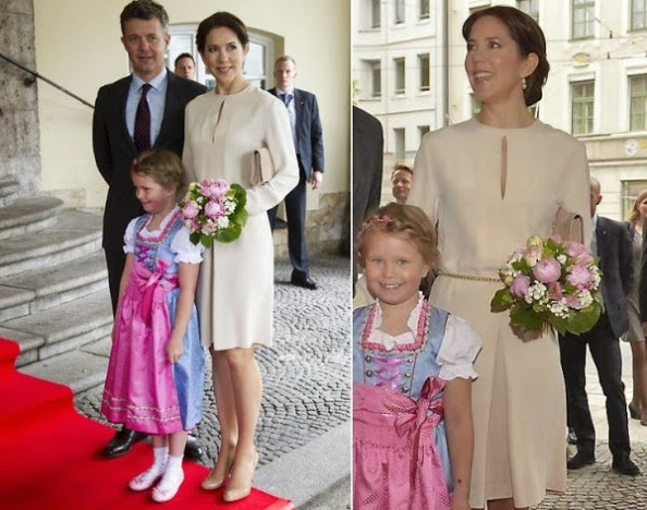 Danish Crown Couple Attended An Opening Ceremony In Munich