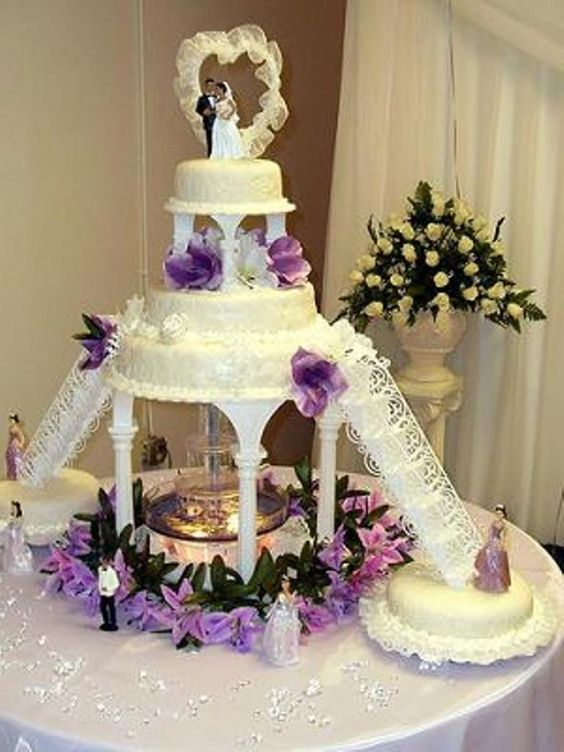 Wedding Cakes With Fountains And Stairs Wedding Ideas