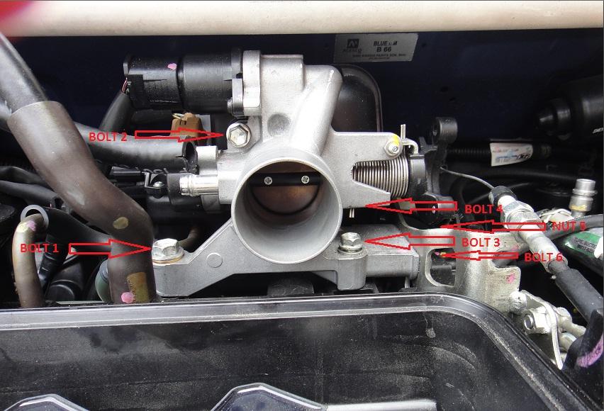 Throttle Position Sensor Cost >> The journey begins: DIY Cleaning Throttle Body