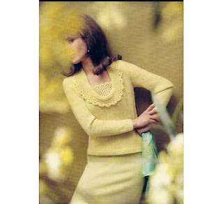 Scoop Neck Blouse Knitting pattern