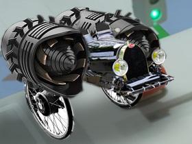 未来車両(素材使用)