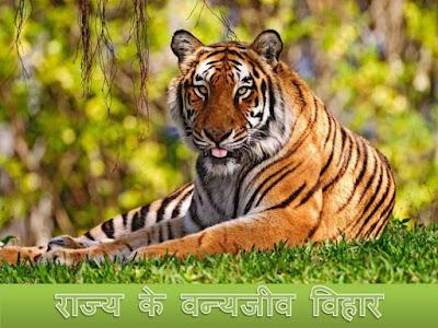 उत्तराखण्ड राज्य के वन्यजीव विहार  Rajya Ke Vanyajiv Vihar