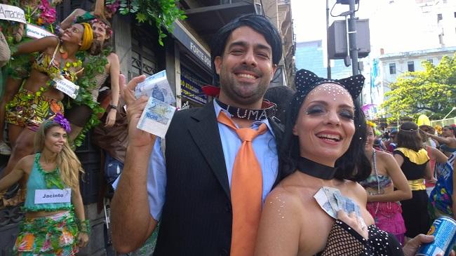 Sucesso do carnaval: Eike Batista e Luma de Oliveira