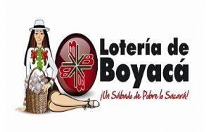 Lotería de Boyacá sabado 15 de diciembre de 2018