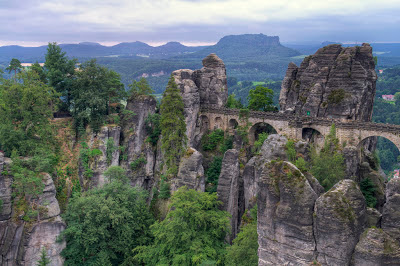 The Bastei Bridge