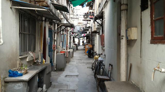 Longtang du quartier japonais de Hongkou à Shanghai