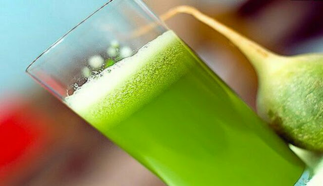 Minuman hijau untuk meratakan perut buncit
