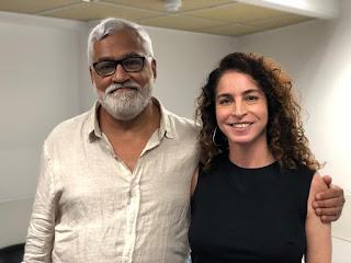 Paulo Halm e Rosane Svartman apresentam a nova novela das 7, Bom Sucesso — Foto: Leticia Souza / Gshow