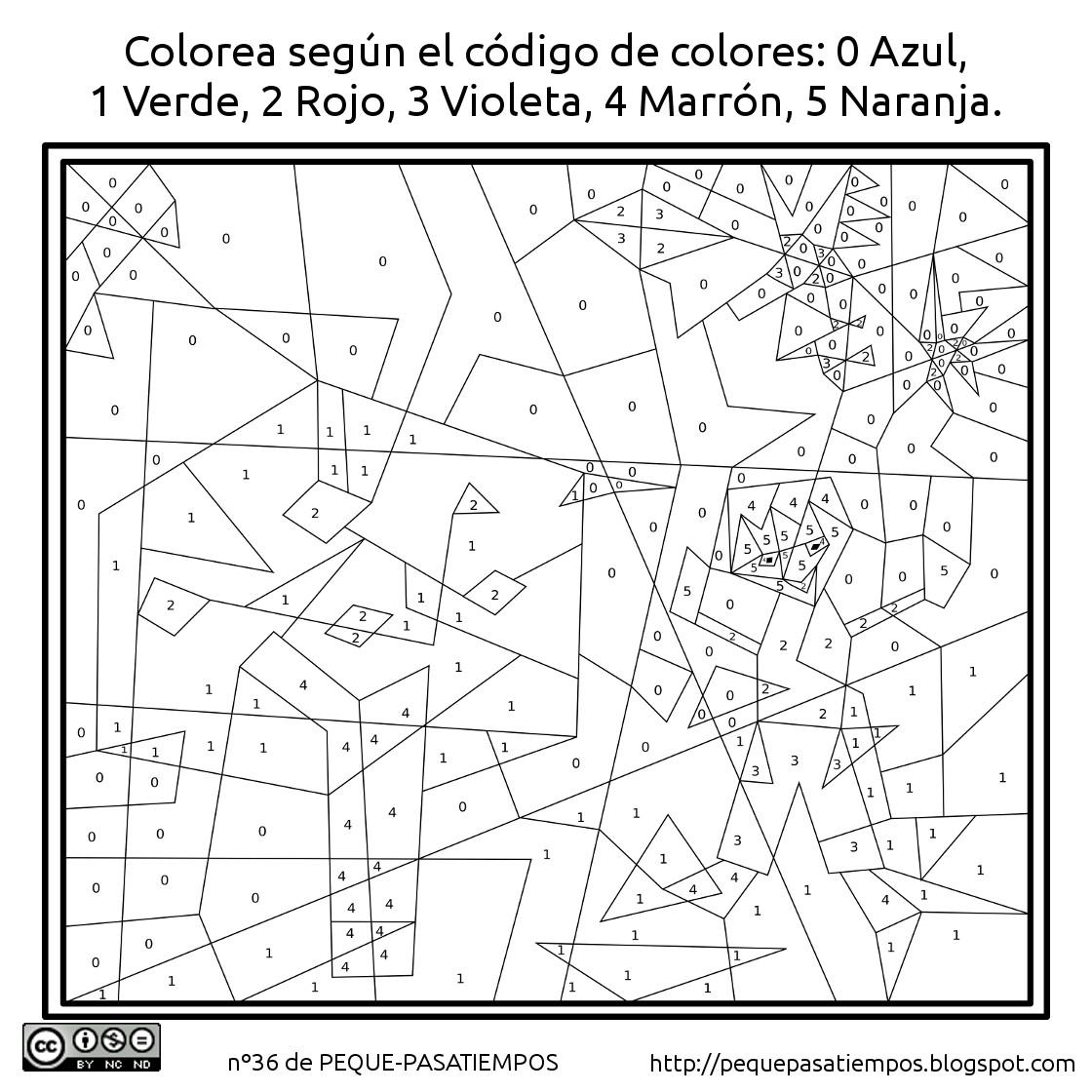 Peque-pasatiempos: Colorear