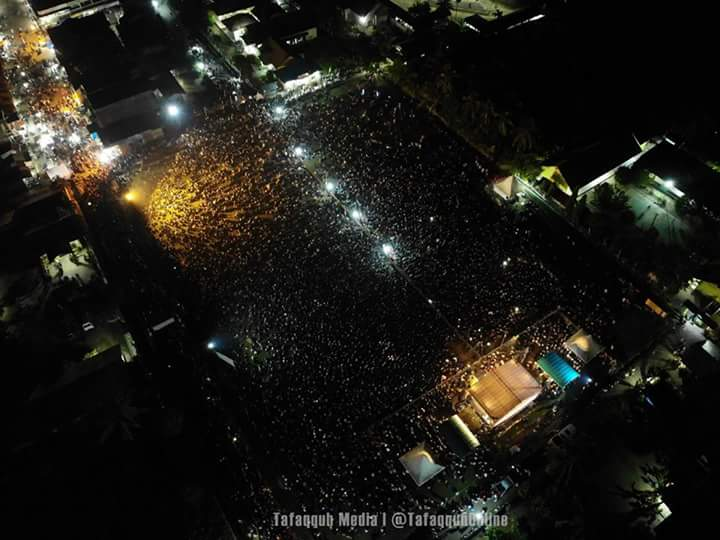 Bikin Bangga! Begini Penampakan Jamaah Ustadz Somad Aceh Utara