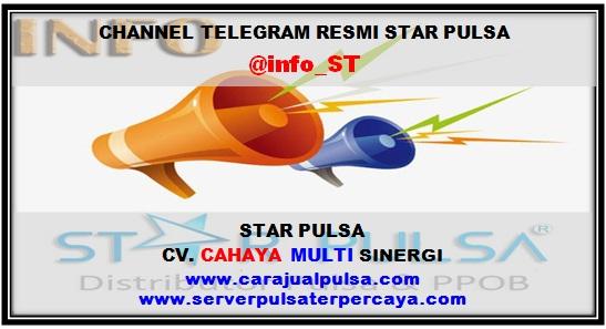 Channel Telegram Resmi Server Star Pulsa