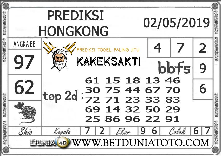 Prediksi Togel HONGKONG DUNIA4D 02 MEI 2019