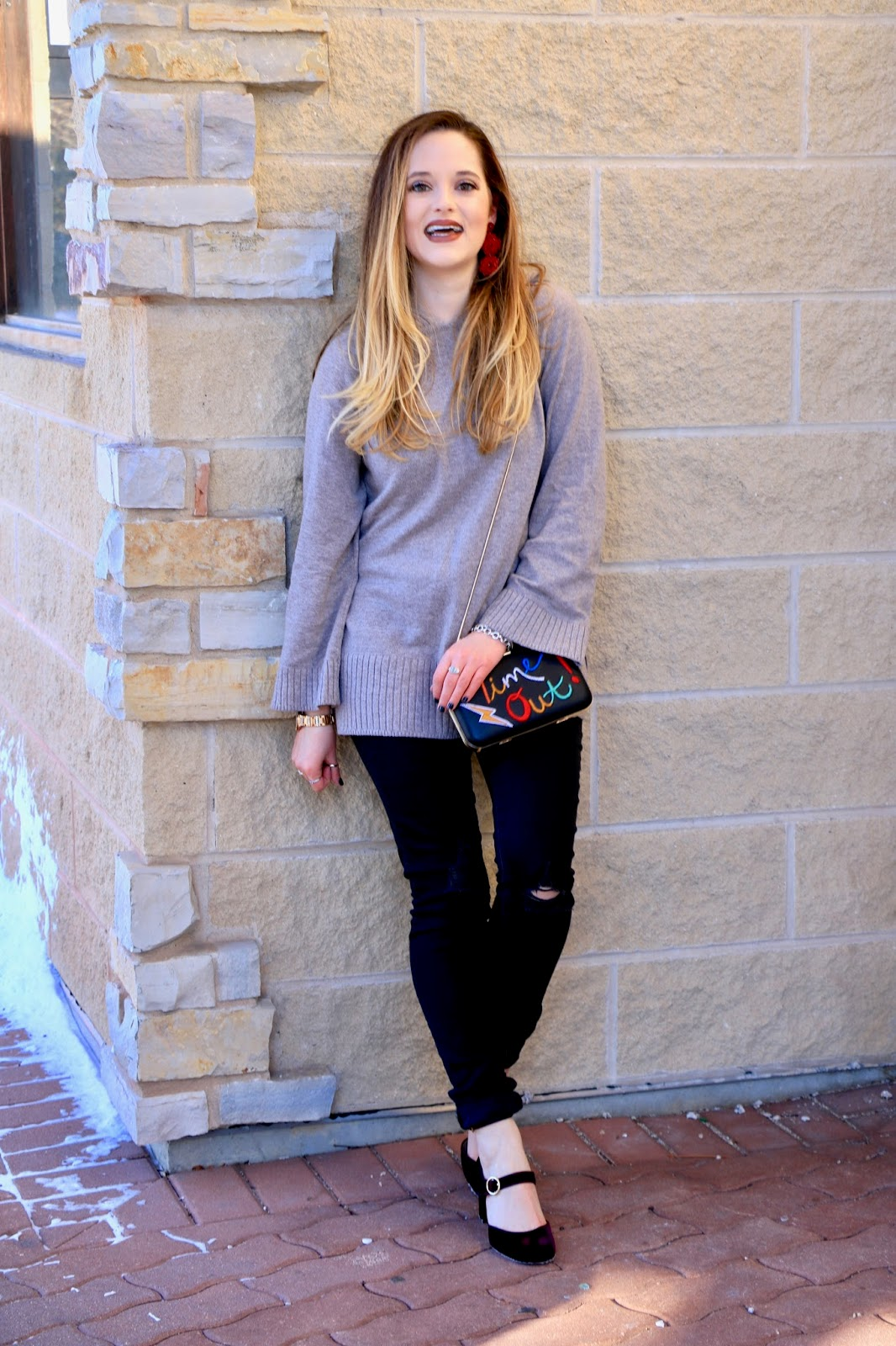 Nyc fashion blogger Kathleen Harper showing how to wear a hoodie stylishly