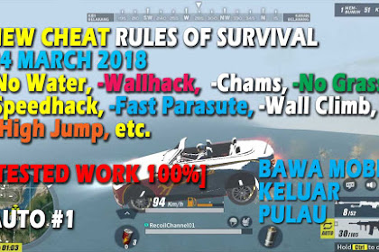 Cheat Rules of Survival Treonin 1.0 Update 24 Maret 2018