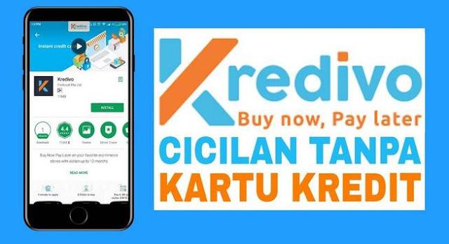 Aplikasi Pinjaman Uang Android, Kredivo