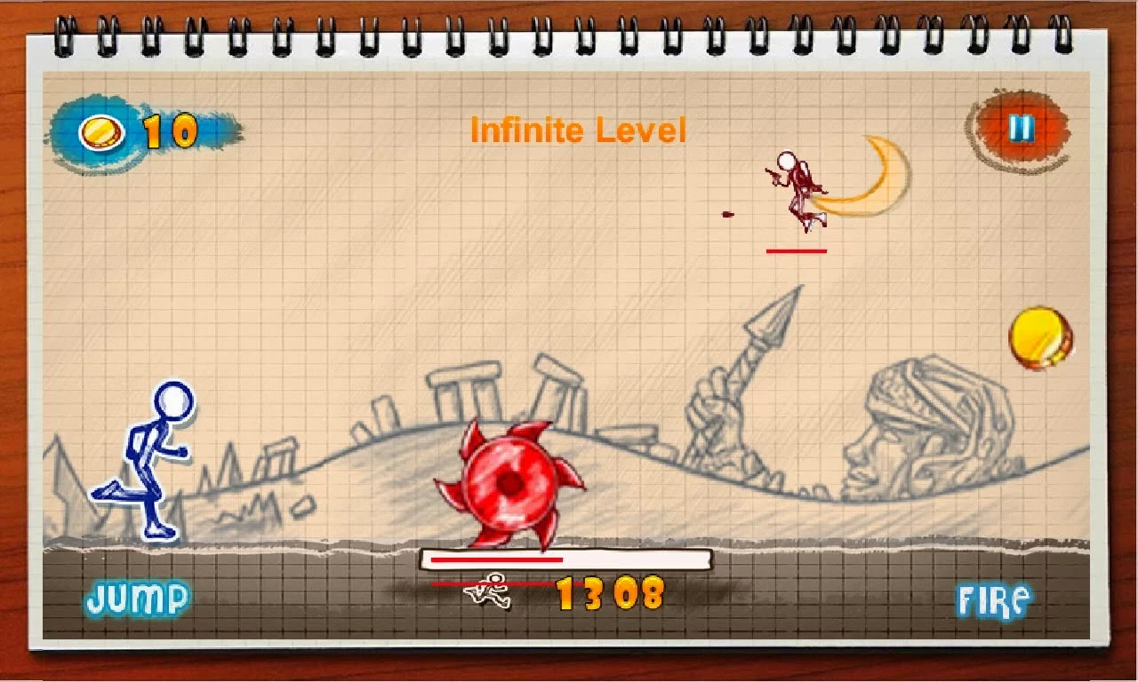 game stickman running