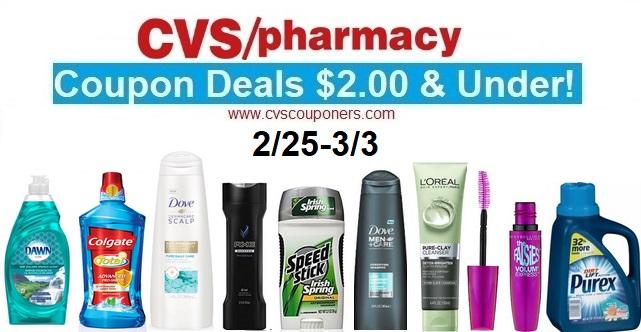 http://www.cvscouponers.com/2018/02/cvs-coupon-deals-200-under-225-33.html