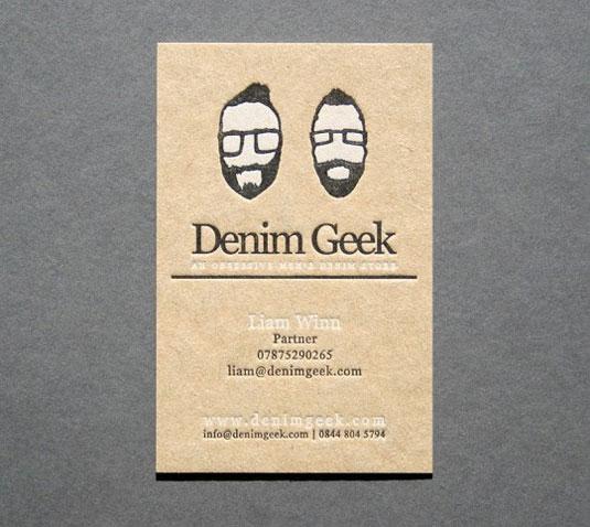 32 Elegant Designs Of Letterpress Printing Business Cards