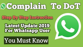 Complain can register DOT against abusive and objectionable messages on WhatsApp