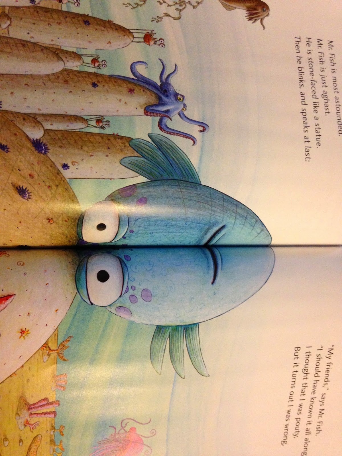 Edu 337 Children S Literature Blog The Pout Pout Fish