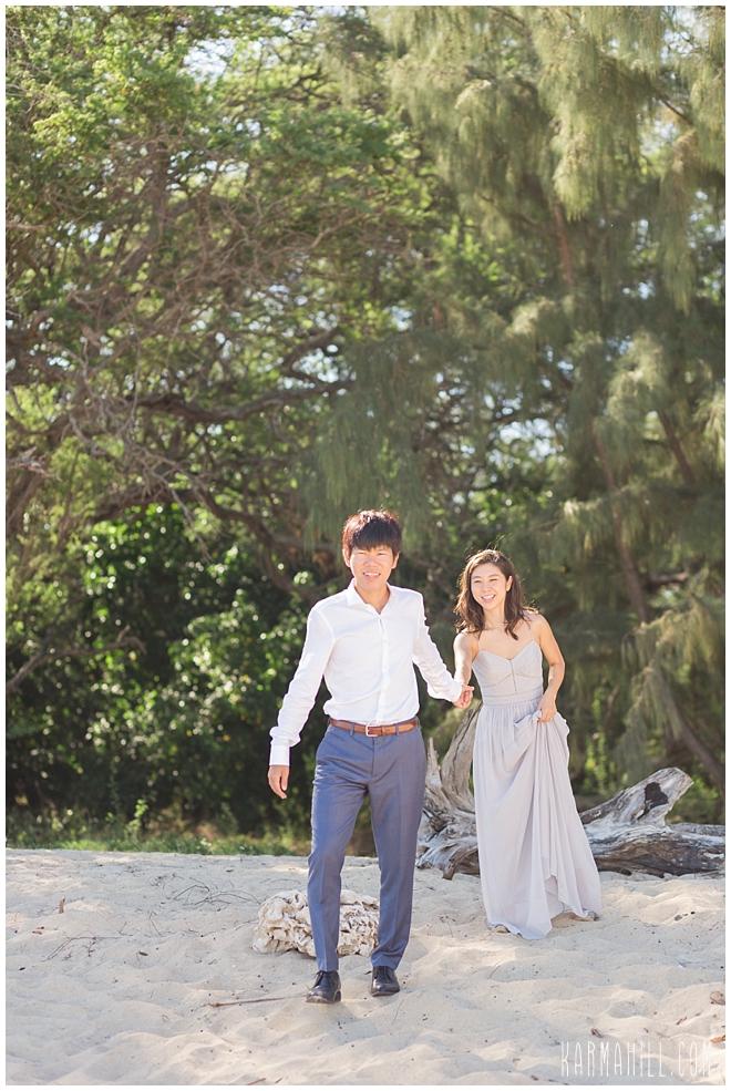 Maui Engagement Portrait Photographer