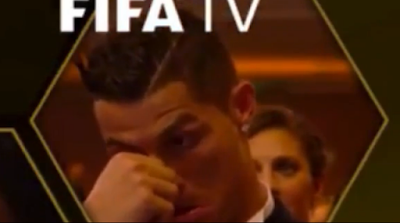 1K - Cristiano Ronaldo's reaction to Messi winning the Ballon d'Or