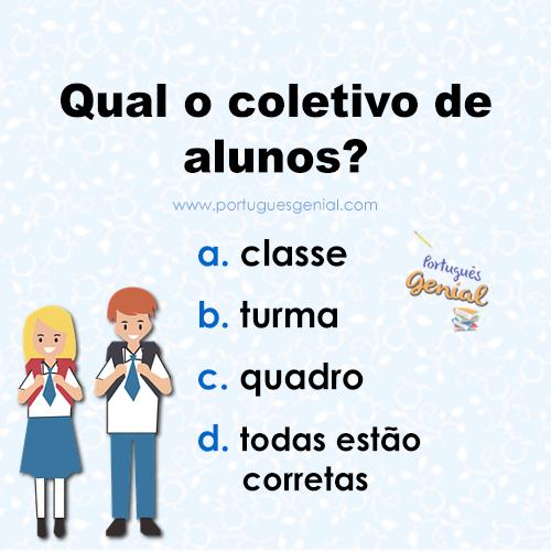 Coletivo de alunos - Qual é o coletivo de alunos?