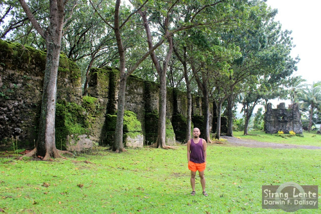 Guiob Church Ruins Camiguin