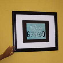 Large Framed Print Wall Frame