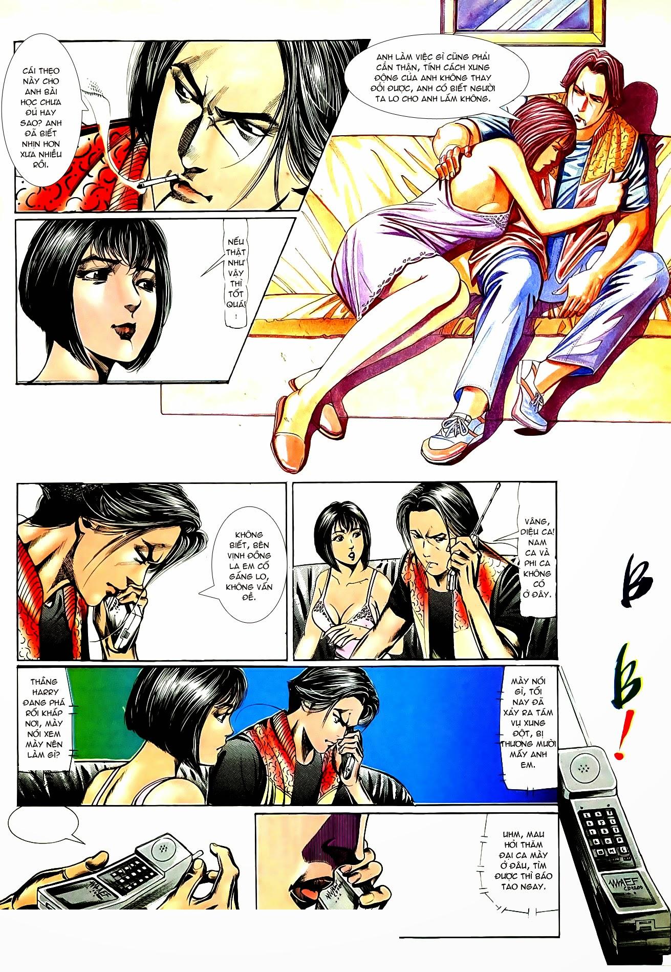 Người Trong Giang Hồ chapter 83: tiêu diệt rồng qua sông trang 21
