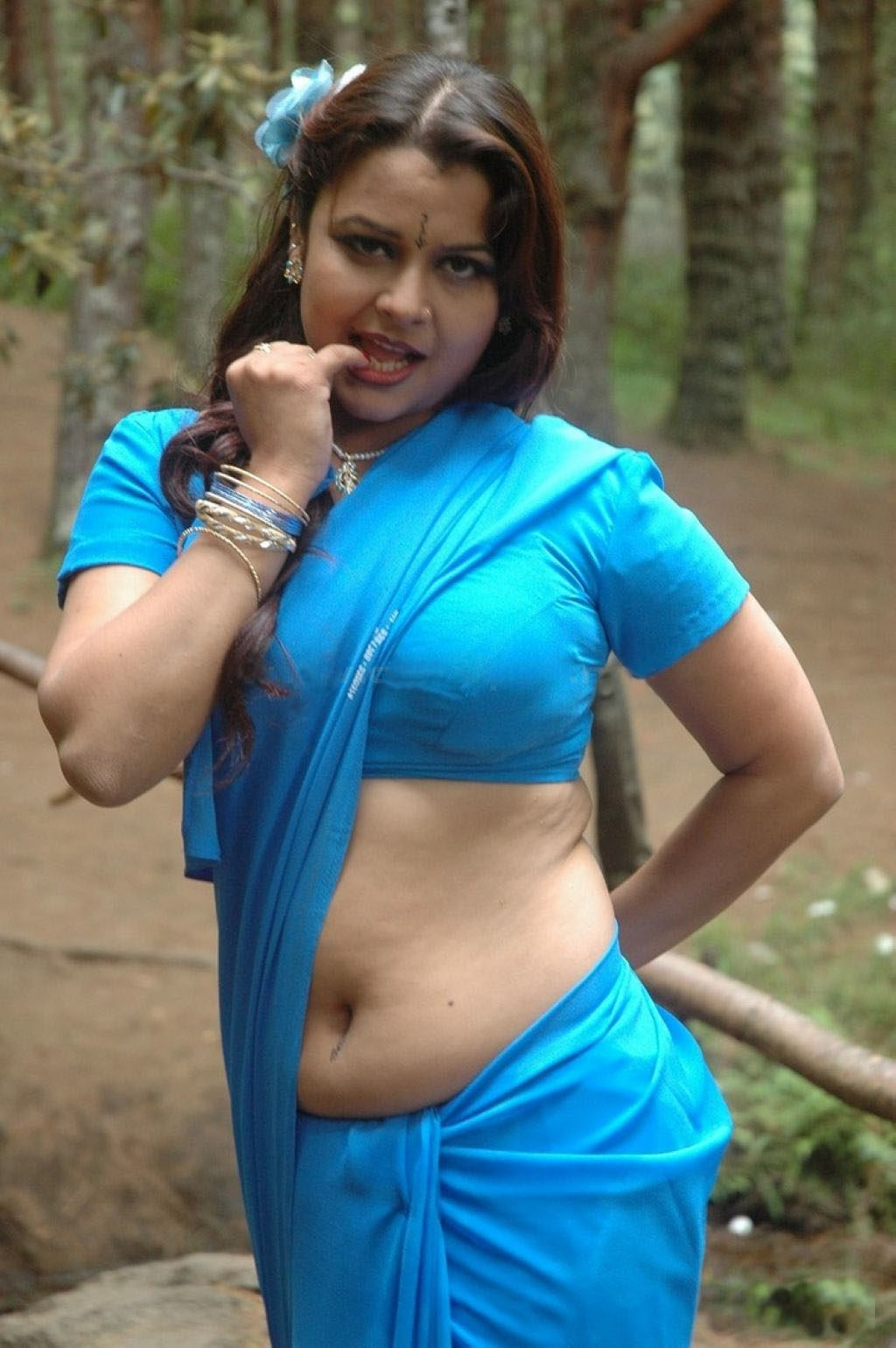 Actress Hot Saree  Tamil Actress Tamil Actress Photos -7458