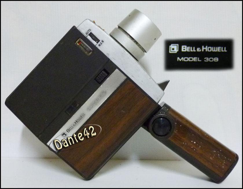Dante42ml: Dante42 ANTIGUA CAMARA DE CINE BELL HOWELL 308
