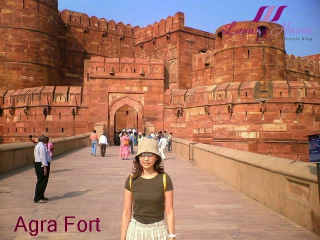 unesco world heritage site agra fort travel review