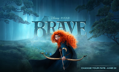Brave door Disney Pixar