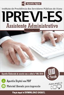 Apostila Concurso IPREVI-ES Viana