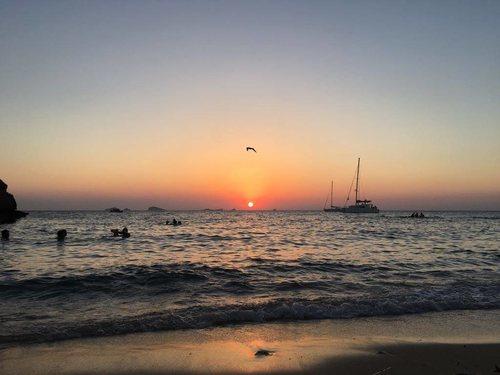 tramonto a ibiza
