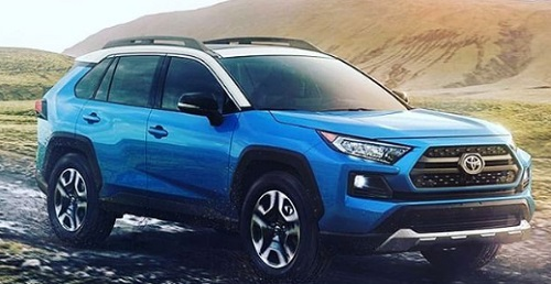Design Baru Facelift Toyota RAV 4 Adventure Crossover