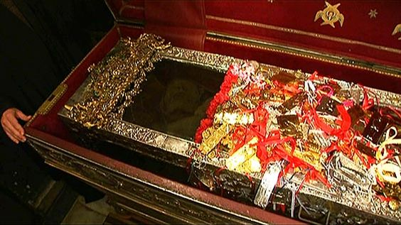 Relics of Saint Spyridon Church of Saint Spyridon, Corfu.