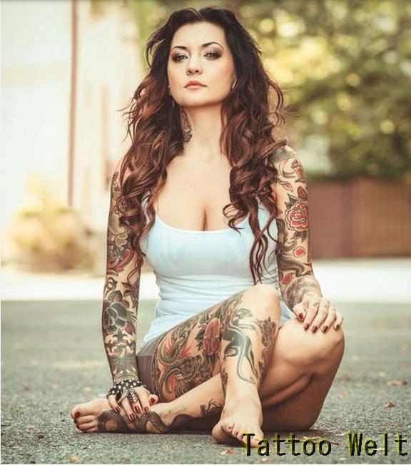 Sexy Tattoos für Frauen - Tattoo Welt