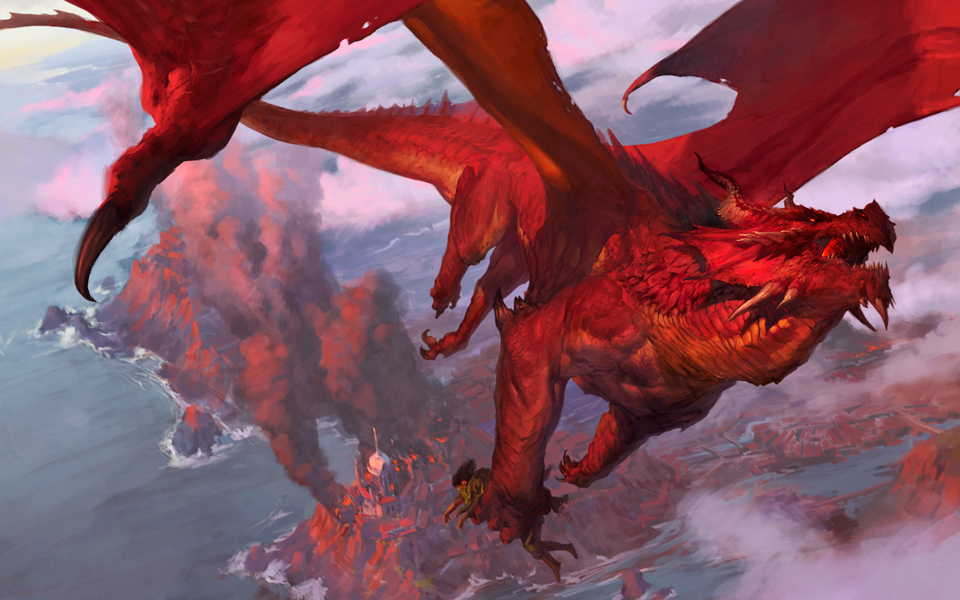Dnd Red Dragon: Tyler Jacobson: October 2014
