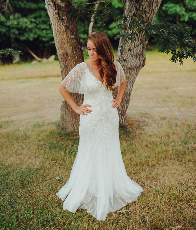 Sensible Rustic Country Wedding Gown | bridal and prom fashion