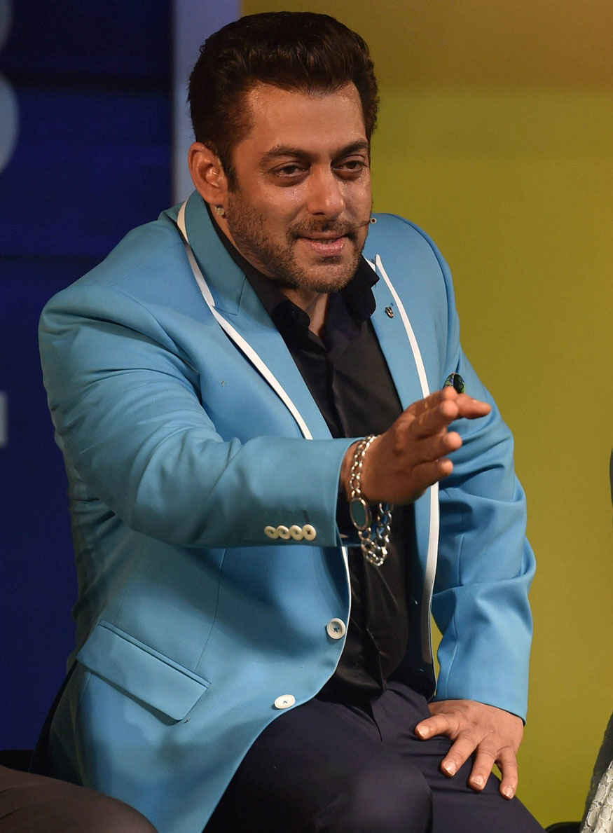 Salman Khan at 'Bigg Boss 11' Press Conference Pics