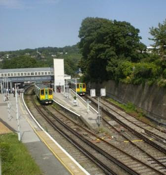 Class 313s at Lewes