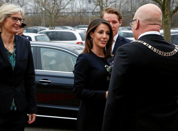 Princess Marie attended the diploma ceremony of the Academy for Talented Youth in Solrød