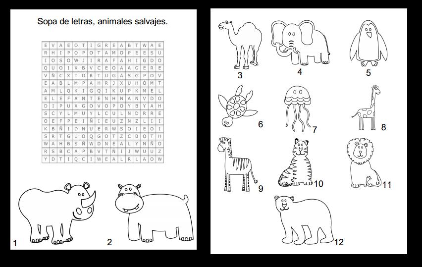 Recursos para el aula de lengua: Sopa de letras con ...