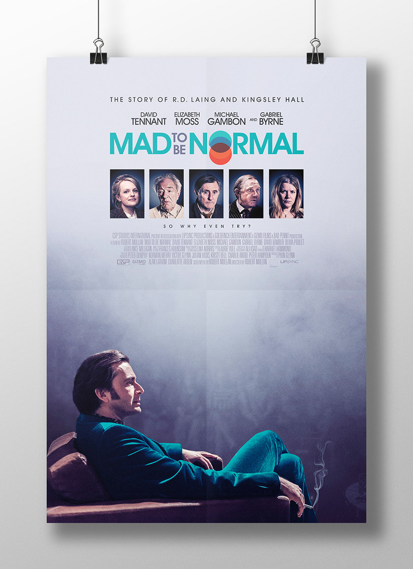 Mad to be normal to have its russian premiere at new british film festival