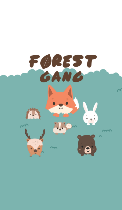 Forest Animals Gang