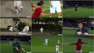 Eric Saade - Winning Ground (The Official Song of UEFA Wo**en's Euro 2013) HD 720p Music video Free Download