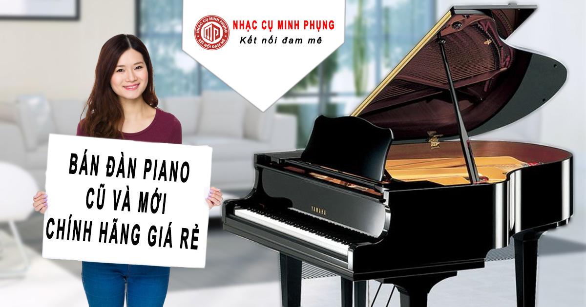 Địa chỉ bán đàn piano cơ cũ giá rẻ, uy tín tại TPHCM - Piano giá rẻ